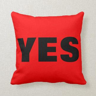 Yes No Pillows - Decorative & Throw Pillows Zazzle