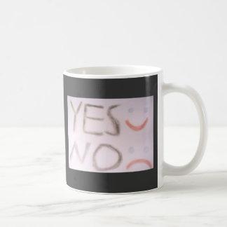 yes no tazas de café
