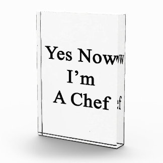 Yes Now I m A Chef Award