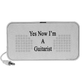 Yes Now I'm A Guitarist Travel Speaker