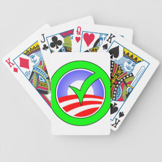 Yes Obama! Bicycle Playing Cards