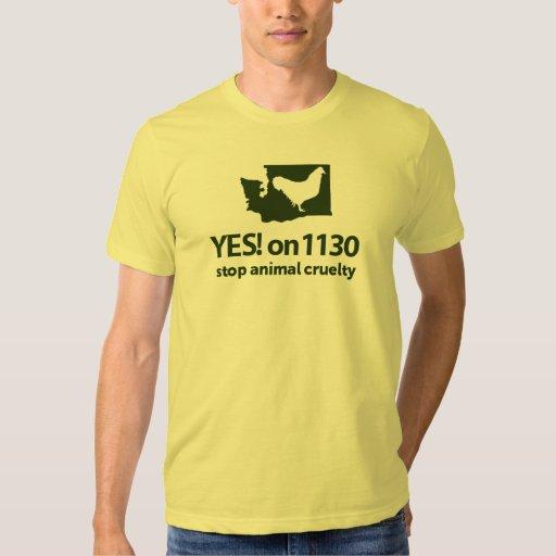 YES! on 1130 Volunteer T-Shirt