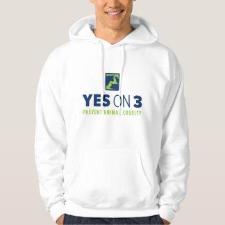 Yes on 3! Hooded Sweatshirt