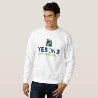 Yes on 3! Sweatshirt