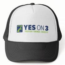 Yes on 3! Trucker Hat