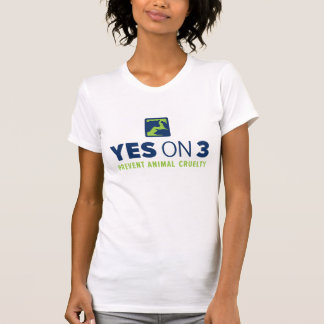 Yes on 3! Women's Fine Jersey T-Shirt