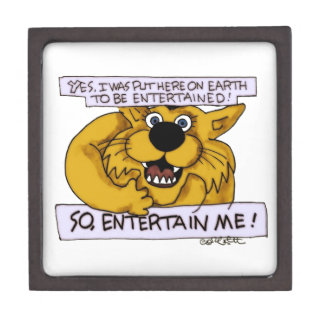 Yes on Earth to be entertained- so entertain ME Premium Trinket Box