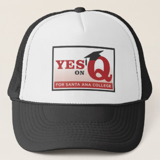 Yes on Measure Q t-shirt Trucker Hat