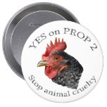 Yes on Proposition 2 - Button