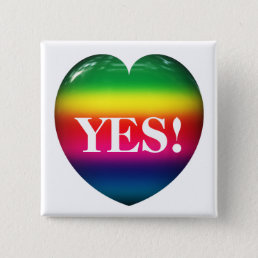 Yes! On Rainbow Heart Pin