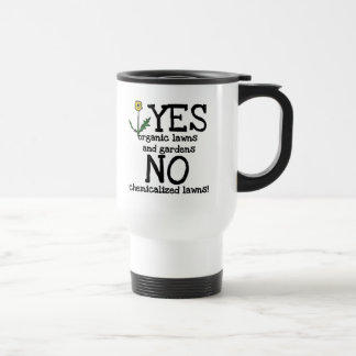 YES Organic NO Chemicals T-shirts and Gifts Coffee Mugs