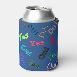Yes Oui Can Holder Can Cooler