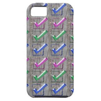 YES positive STROKES pattern NVN173 NavinJOSHI FUN iPhone 5 Case