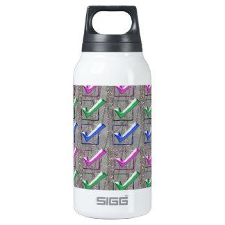 YES positive STROKES pattern NVN173 NavinJOSHI FUN Insulated Water Bottle