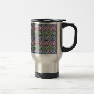 YES positive STROKES pattern NVN173 NavinJOSHI FUN Coffee Mug