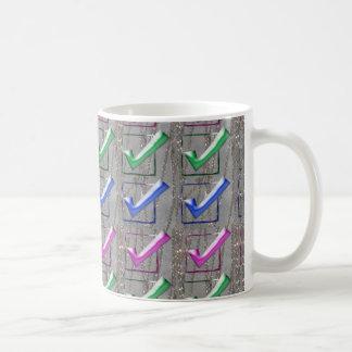 YES positive STROKES pattern NVN173 NavinJOSHI FUN Mugs