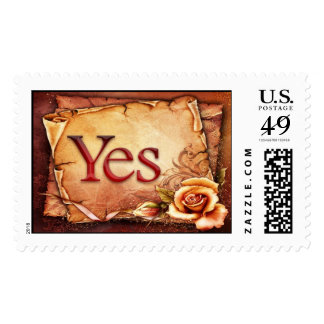Yes - Postage Stamp