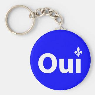 YES Quebec (Key-ring) Keychain