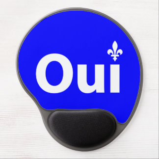 YES Quebec (Mouse mat) Gel Mouse Pad