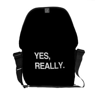 YES, REALLY COMMUTER BAGS