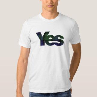Yes Scotland Scottish Independence 2014 Tee Shirts