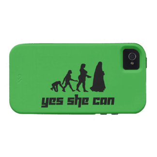 Yes she can iPhone 4 case