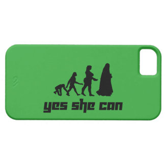 Yes she can iPhone 5 covers