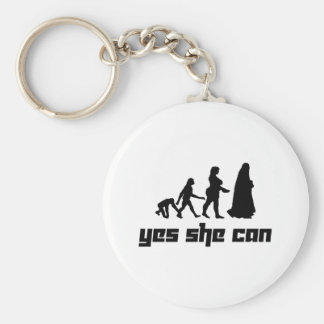Yes she can keychain