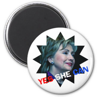Yes She Can - Magnet - Hillary Clinton 2016