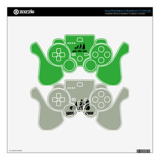 Yes she can skins for PS3 controllers