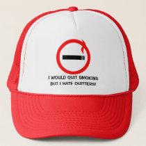 Yes Smoking Trucker Hat