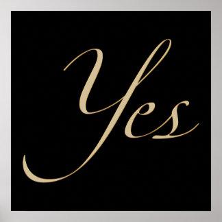 Yes Style III Poster