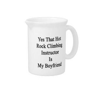 Yes That Hot Rock Climbing Instructor Is My Boyfri Pitchers