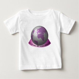 Yes, the world DOES revolve around me Baby T-Shirt