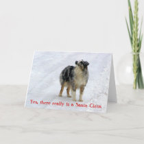 Yes, there really is a Santa Claus Greeting card