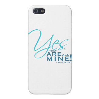 """""""Yes, they ARE all mine!"""" iPhone SE/5/5s Cover"""