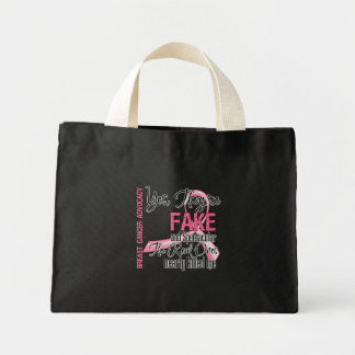 Yes They Are Fake and Spectacular - Breast Cancer Tote Bags