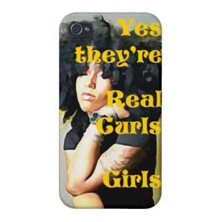 Yes they're Real Curls Girls iPhone Case