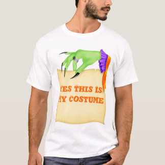 YES THIS IS MY Costume for Halloween Tshirt