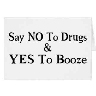 Yes To Booze Card