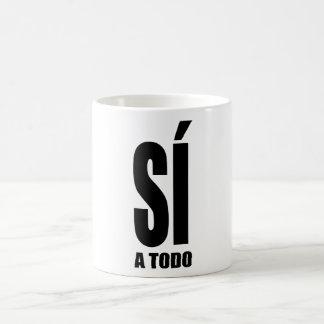 Yes to everything coffee mug
