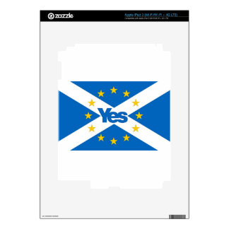 Yes to Independent European Scotland Skins For iPad 3
