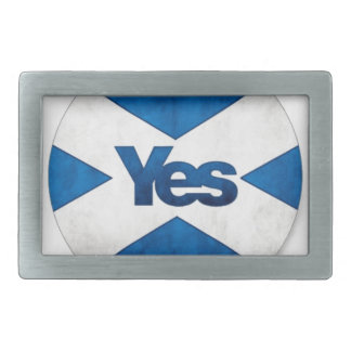 Yes to Independent Scotland 'Saor Alba Go Bragh' Belt Buckle