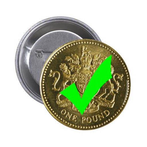 Yes to Pounds Sterling, No to the Euro ! Pin