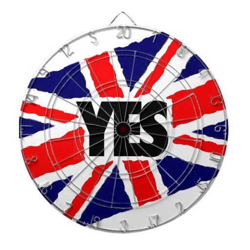YES to the English. Dartboard With Darts