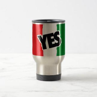 Yes to the Italians. Travel Mug