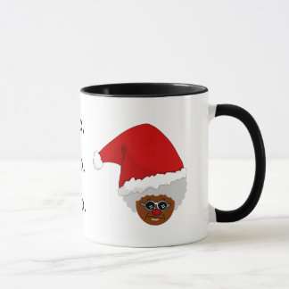 Yes, Virginia, There is a Black Santa Claus Mug