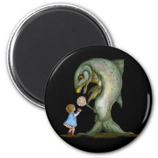 Yes, Virginia, there is a frankenfish Magnet