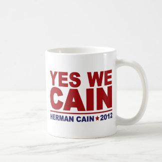 Yes We Cain Herman Cain 2012 Coffee Mug