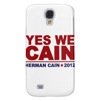 Yes We Cain Herman Cain 2012 Galaxy S4 Covers